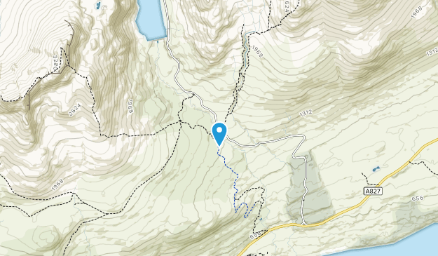 Ben Lawers National Nature Reserve Map