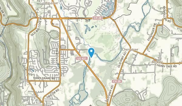 Hays Nature Preserve Map