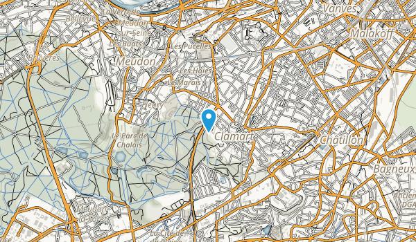 Foret Domaniale de Meudon Map