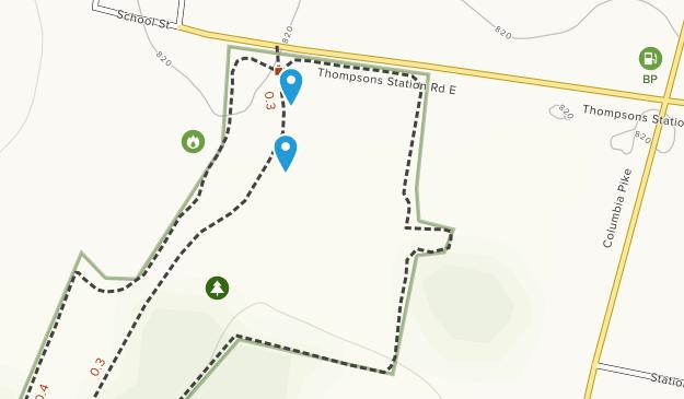 Thompsons Station Park Map