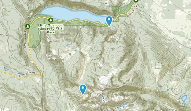 Mount Arrowsmith Regional Park Map