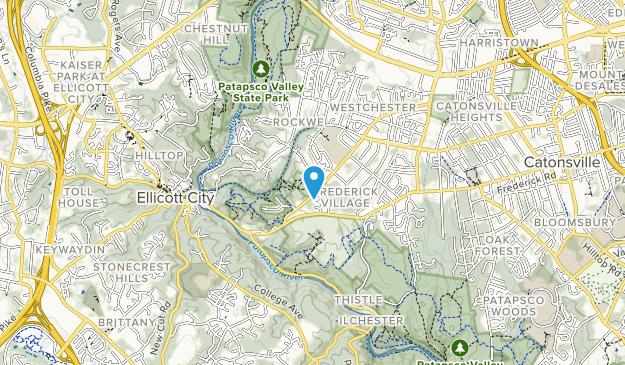 Banneker Park Map