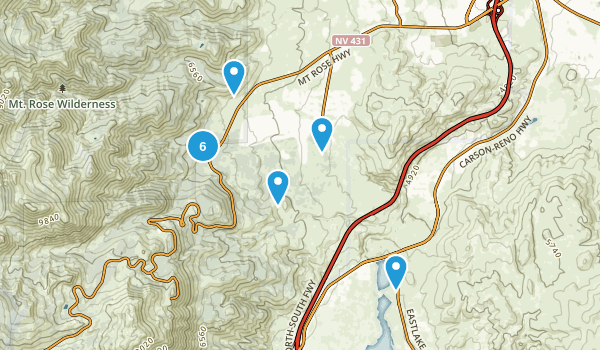 Galena Creek Regional Park Map