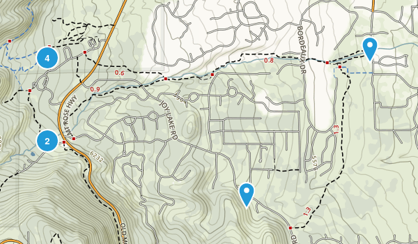 Galena Creek Regional Park Map