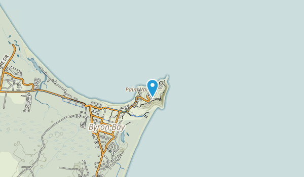 Cape Byron State Conservation Area Map