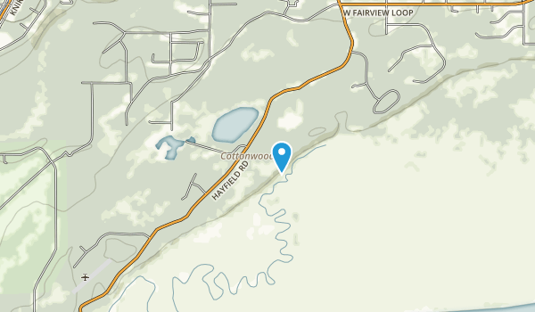Palmer Hayflats Map