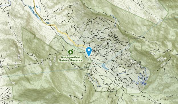 Jonkershoek Nature Reserve Map