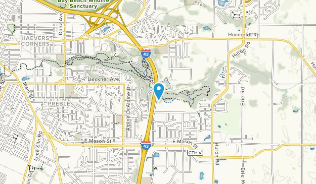 Baird Creek Parkway Map