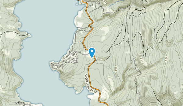 Sechelt Heritage Forest Recreation Site Map