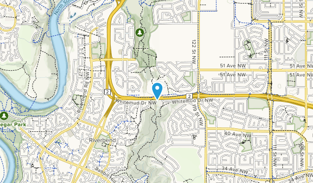 Whitemud Park Map
