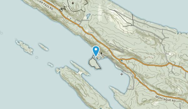 Montague Harbor Marine Provincial Park Map