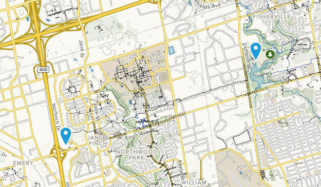 G. Lord Ross Park Map