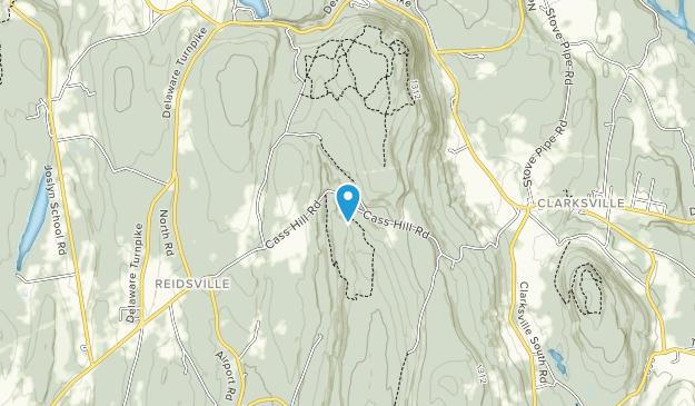 Hannacroix Ravine Preserve Map