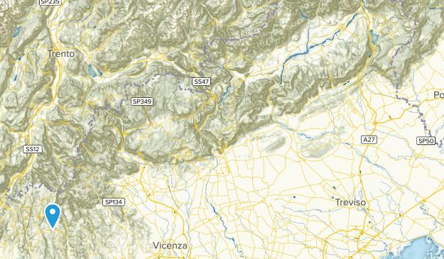 Prealpi Venete Map