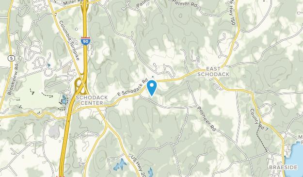 Schodack Town Park Map