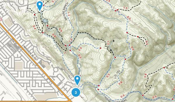 Dry Creek Pioneer Regional Park Map