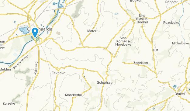 Vlaamse Ardennen Map