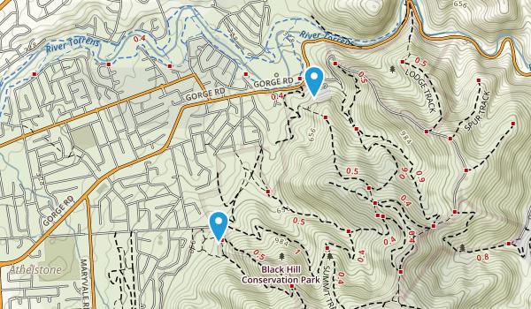 Black Hill Conservation Park Map