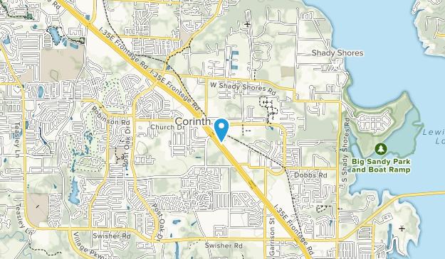 Corinth Community Park Map