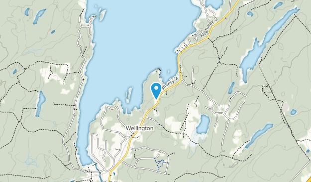 Laurie Provincial Park Map