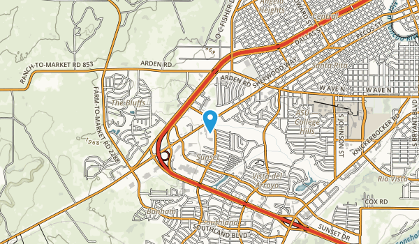 San Angelo City Park Map