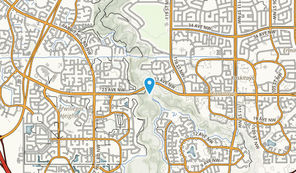 Magrath Heights Park Map