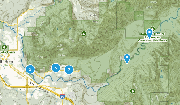 Mount Si Natural Resources Conservation Area Map