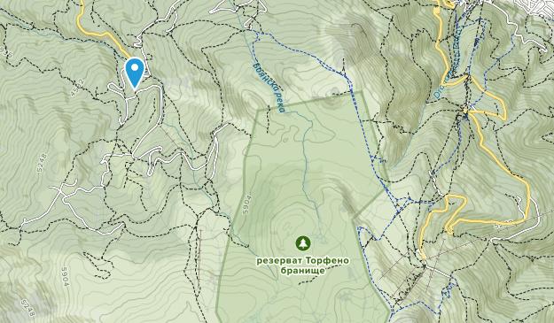 Vitosha Map