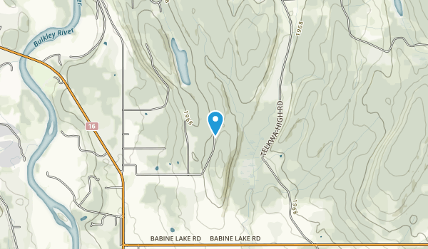 Call Lake Provincial Park Map