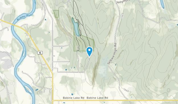 Call Lake Provincial Park Map
