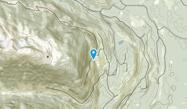 Sleeping Beauty Mountain Provincial Park Map