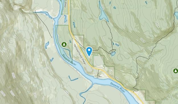 Seven Sisters Provincial Park Map
