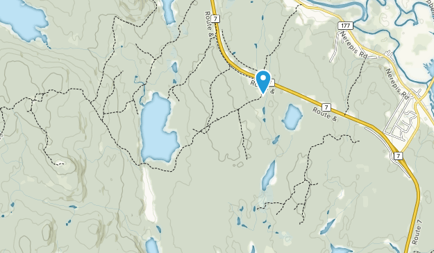 Loch Alva Nature Preserve Map
