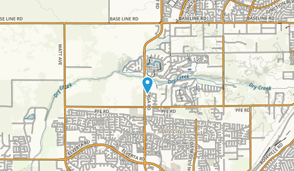 Dry Creek Community Park Map