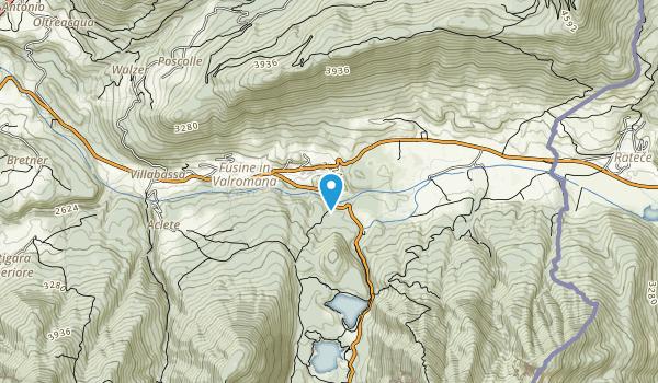 Alpi Giulie Map
