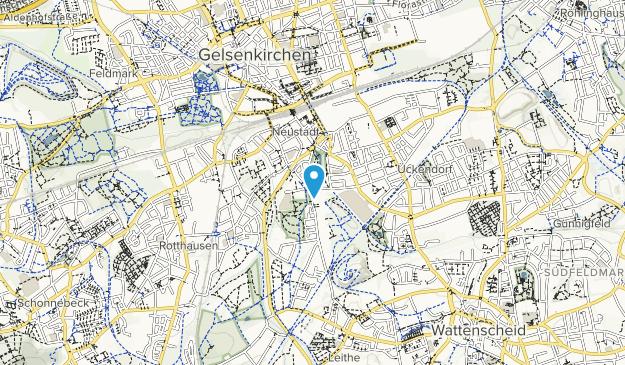 Wissenschafts Park Rheinelbe Map