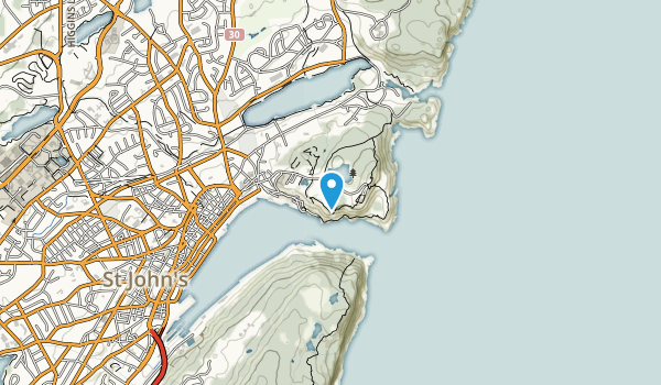 Signal Hill National Historic Site Map