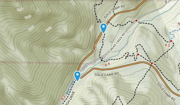 Manitou Section 16 Open Space Map