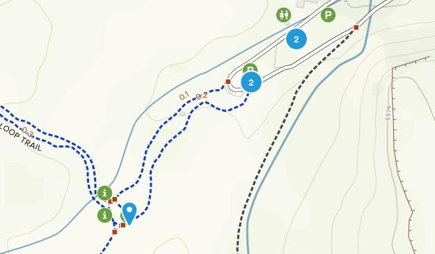Bobcat Ridge Natural Area Map