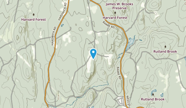 Swift River Reservation Map