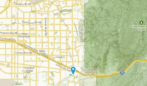 Sunset Canyon Park Map
