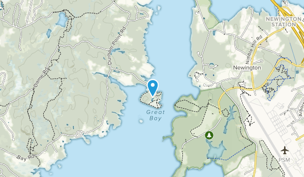 Adams Point Wildlife Management Area Map