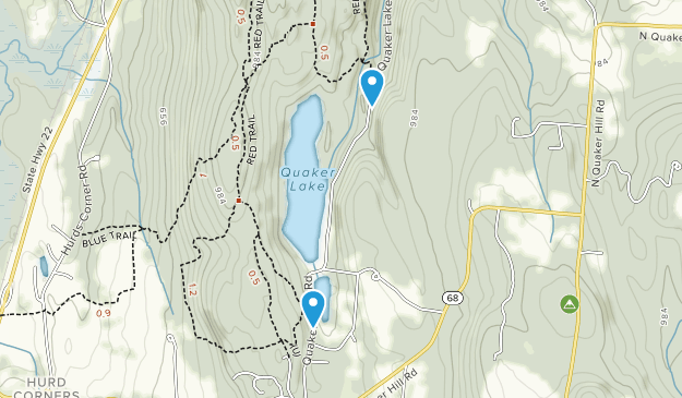 Pawling Nature Preserve  Map