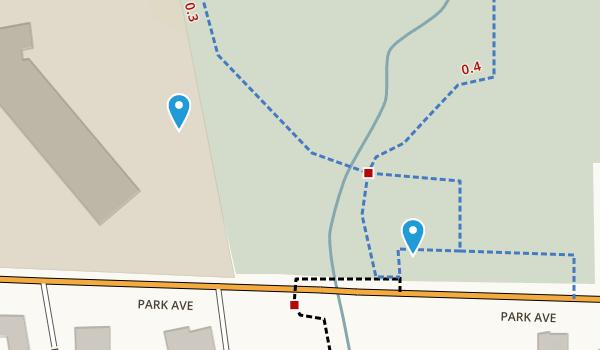 Southards Pond Park  Map