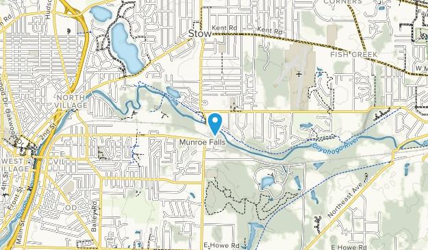 Brust Park Map