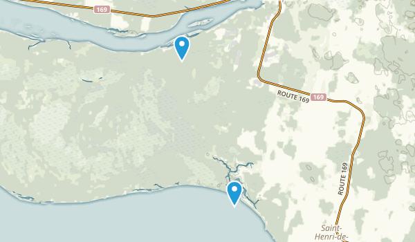 Parc national de la pointe-taillon Map