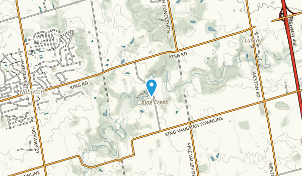 Humber Trails Forest and Wildlife Area Map