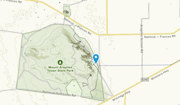 Mount Arapiles Tooan State Park Map
