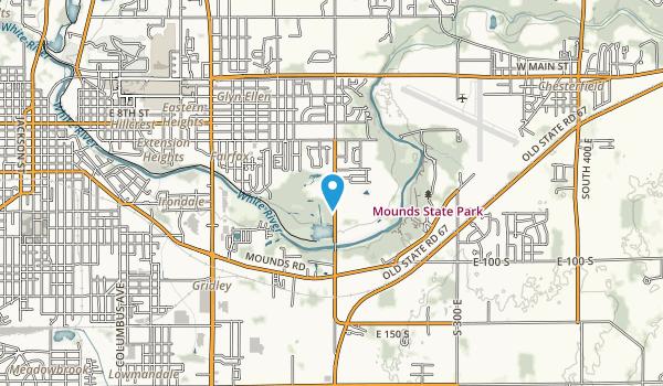 Rangeline Park Map