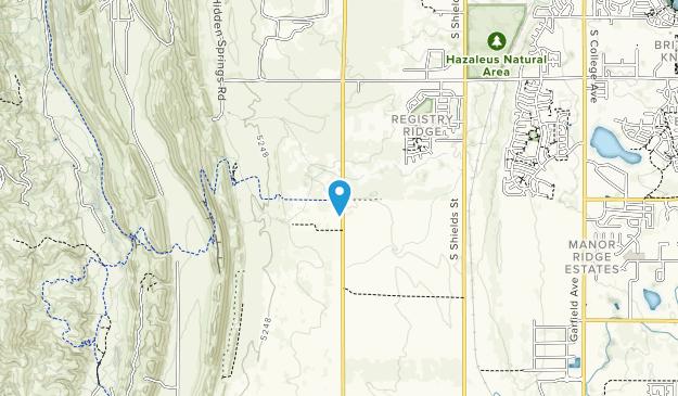 Coyote Ridge Natural Area Map